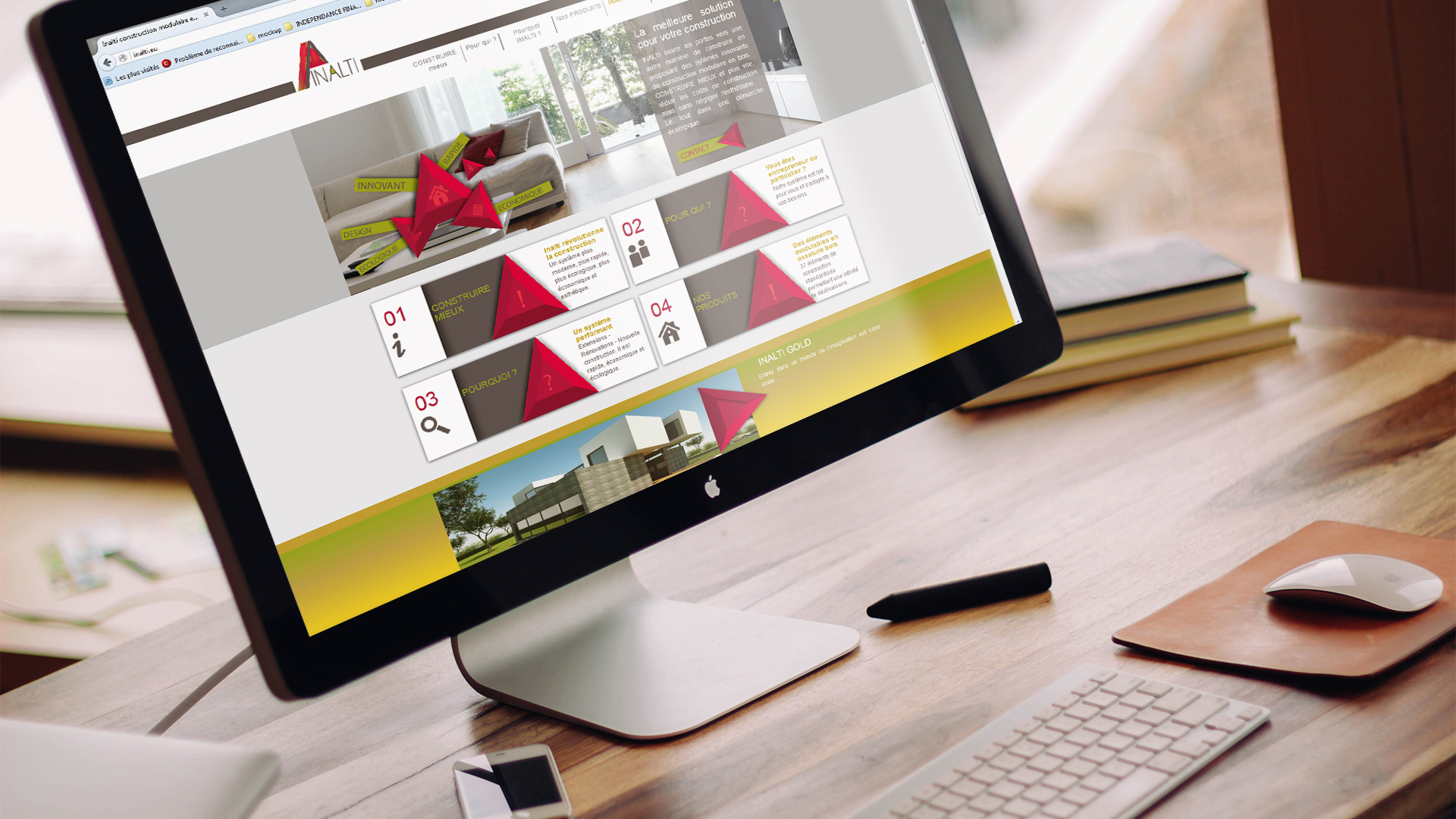 Site Web et E marketing : Inalti - Luxembourg